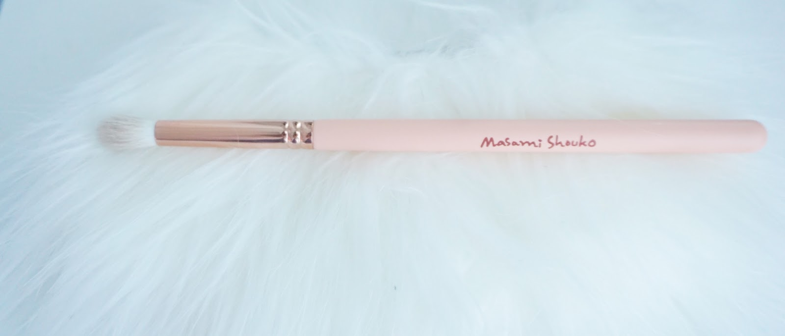 Beauty Talk Me My Brushes And How I Clean It Up Amanda Torquise Masami Shouko Deep Cleansing Blending Brush