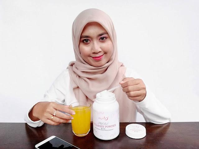 Joymix Pure Collagen Powder Minuman Untuk Kulit Licin Dan Berseri
