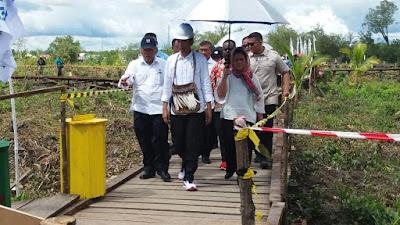 Bukan Ajudan, Ibu Iriana Payungi Presiden Jokowi Blusukan di Papua - Info Presiden Jokowi Dan Pemerintah
