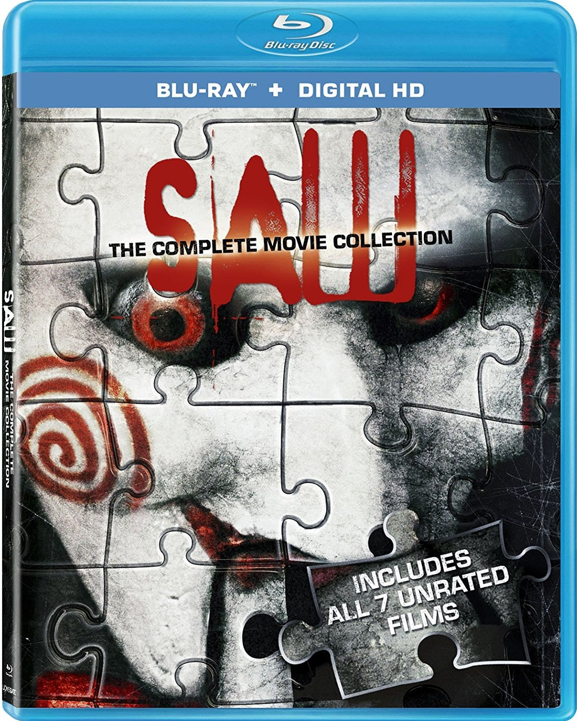 Saw The Complete Movie Collection 1080p BD25