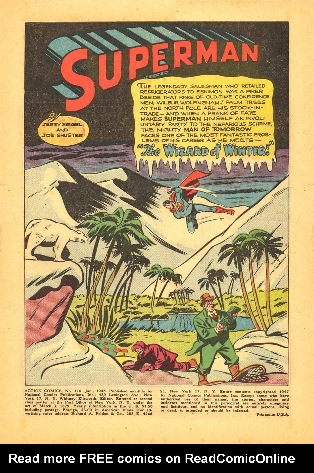 Action Comics (1938) 116 Page 1