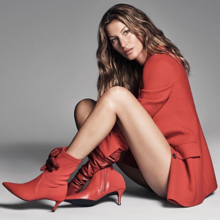 Gisele Bundchen stars in Arezzo fall-winter 2018 campaign