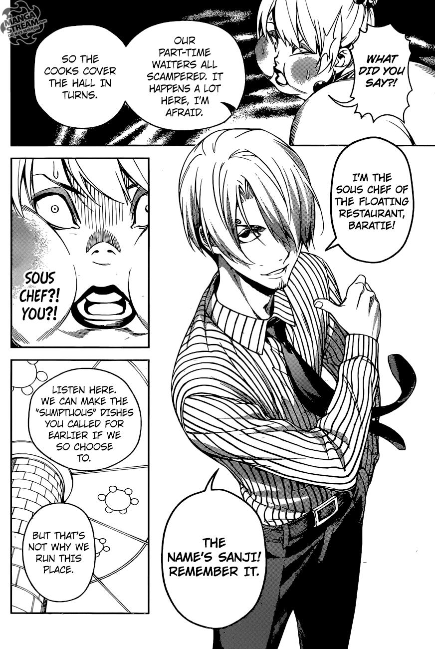 Shokugeki no Sanji One Shot | Read One Piece Manga Online