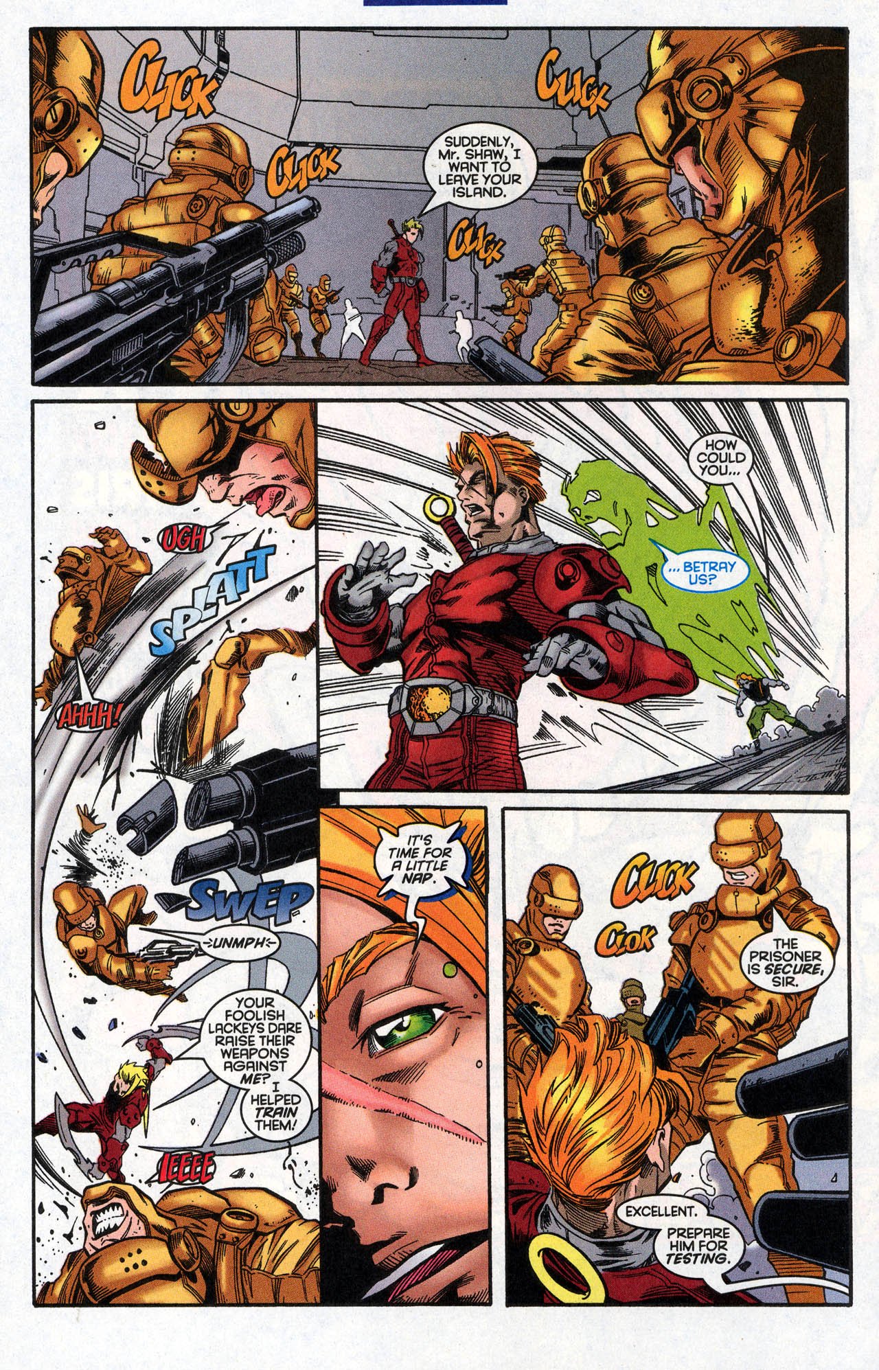 Read online X-Force (1991) comic -  Issue #62 - 18