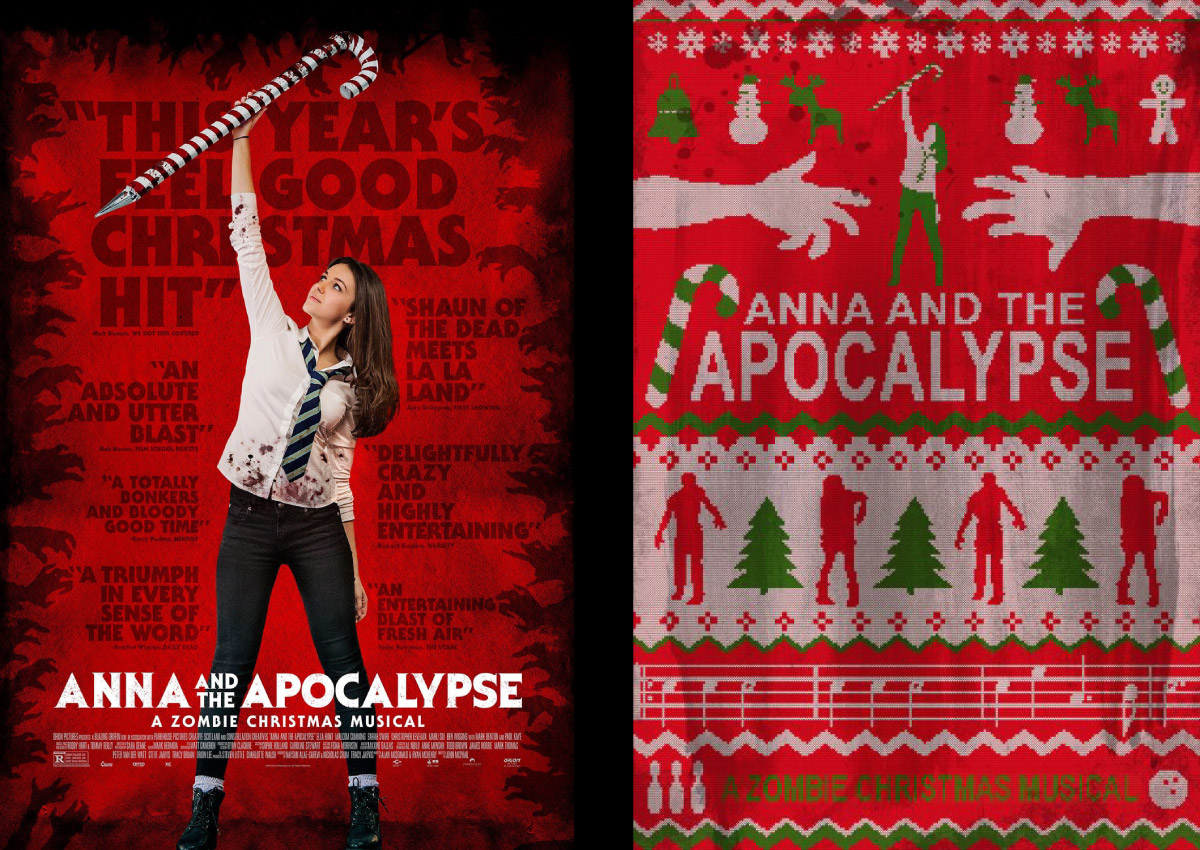 Zombie Christmas Musical.Jorge S Dark Place Anna And The Apocalypse By John Mcphail