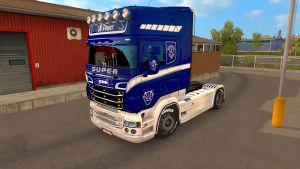 Power V8 skin for Scania RJL