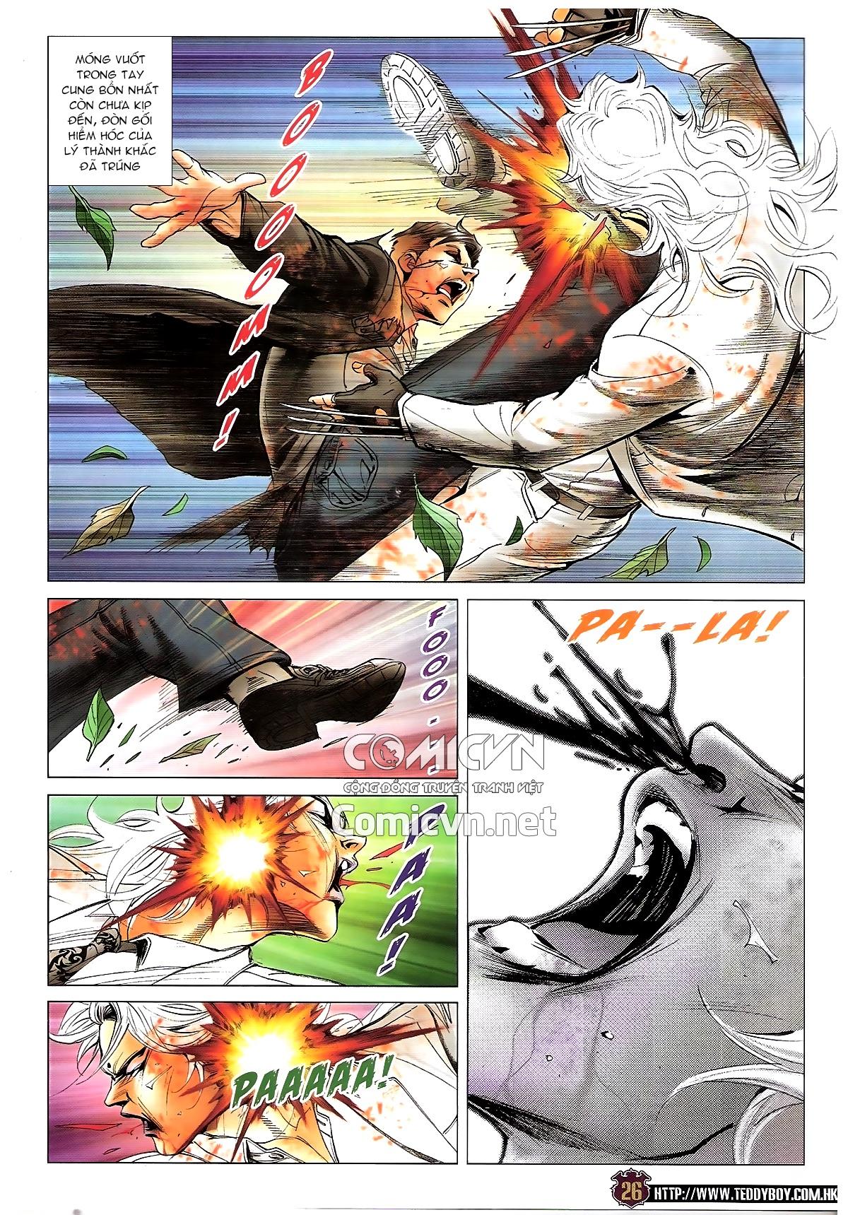 Người Trong Giang Hồ chapter 1677: sát thủ trang 23