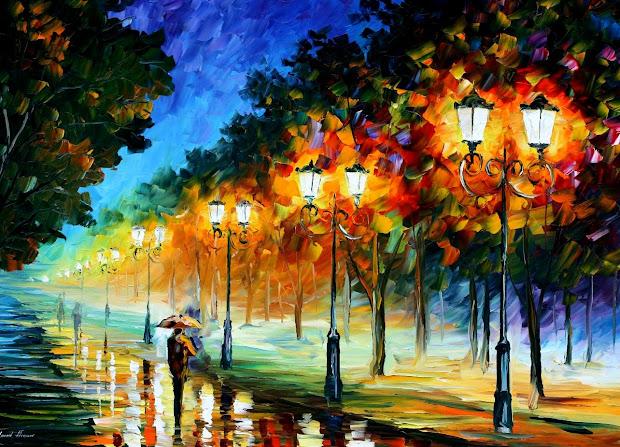 La Dimensi Argentina Leonid Afremov Su Colorido Arte