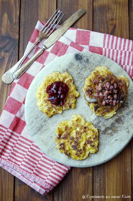 Experimente aus meiner Küche: Maispuffer