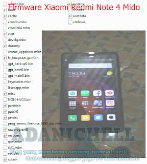 Firmware Xiaomi Redmi Note 4 Mido Snapdragon