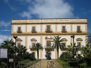 The Villa Cattolica is one of Bagheria's characteristic Baroque villas. It now houses a museum.
