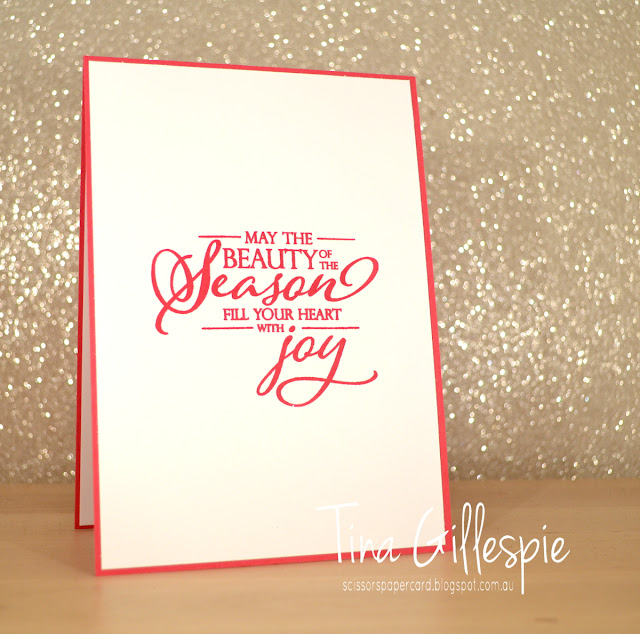 scissorspapercard, Stampin' Up!, Art With Heart, Colour Creations, Christmas Card, Incredible Like You, Merry Christmas To All, Glimmer Paper