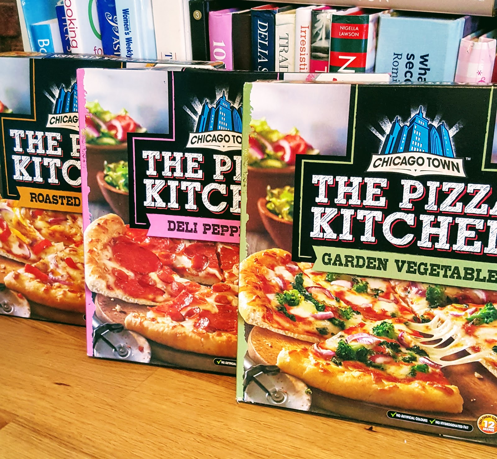 Chicago Town launch 'The Pizza Kitchen' Pizzas