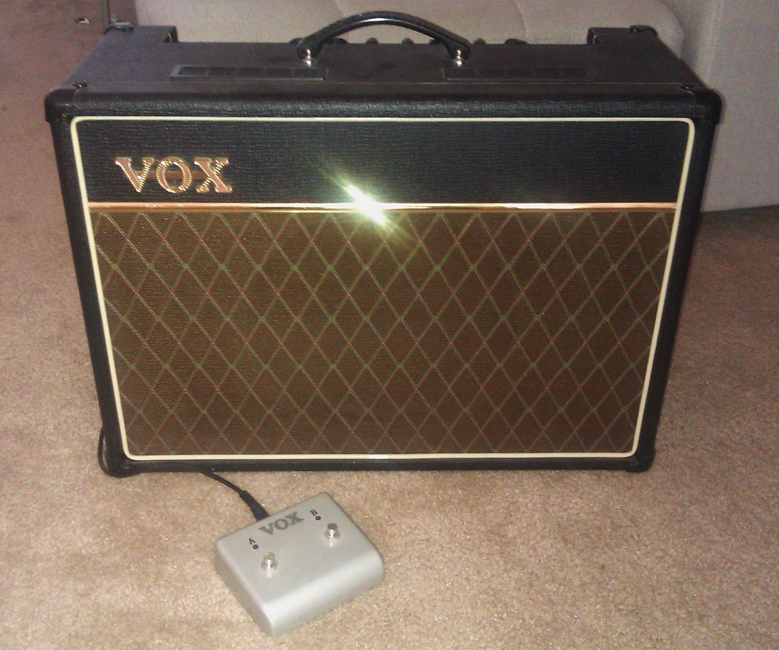 the ones that got away vox ac15 cc1 amplifier