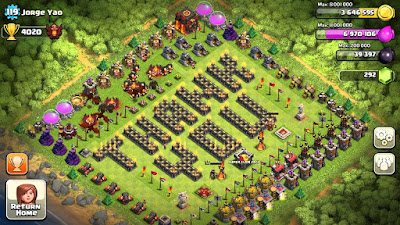 KEREN !! Inilah Pemain Legenda Clash of Clans , coc , clash of clans
