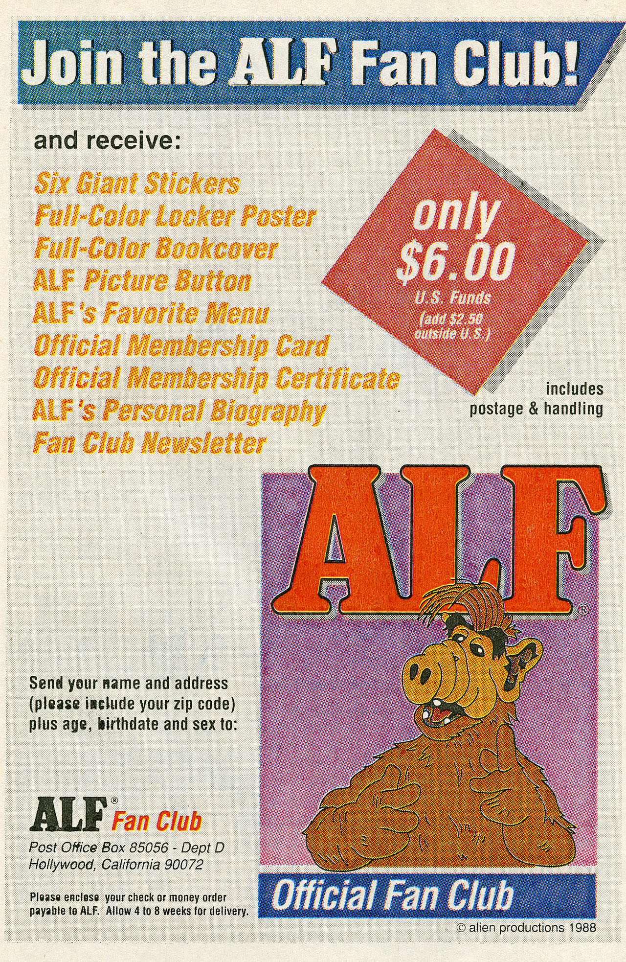Read online ALF comic -  Issue #14 - 23
