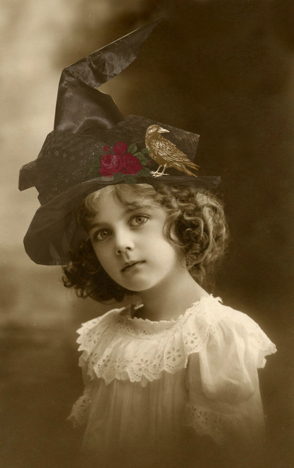 Image result for vintage halloween girl
