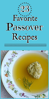 Our favorite Passover recipes over the years. Lots of tried and true ones here!