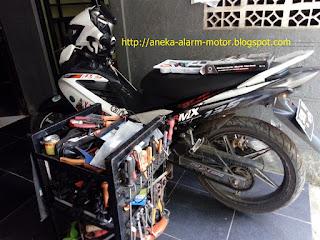 Cara pasang alarm motor pada Yamaha Jupiter MX Karbu 135cc
