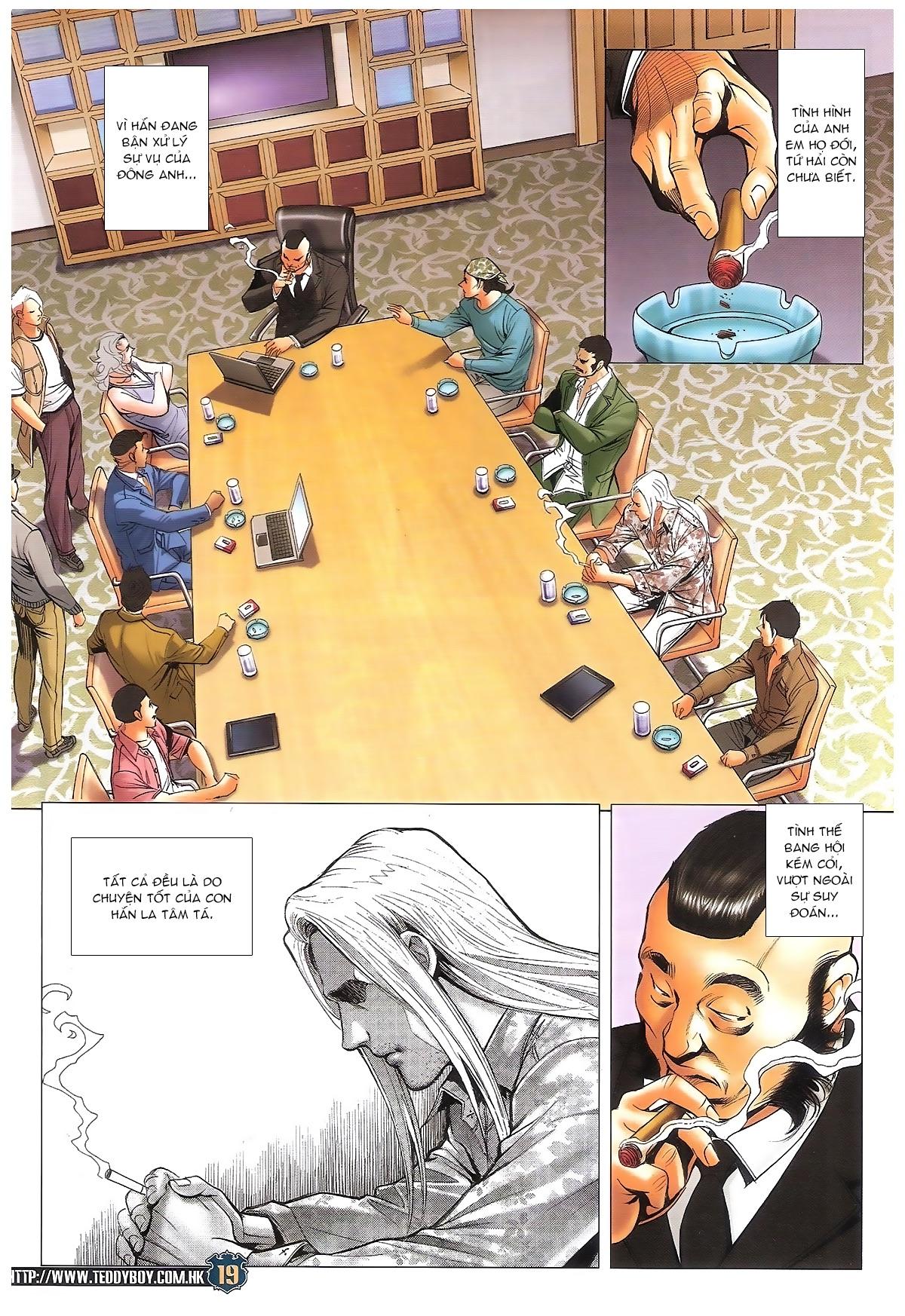 Người Trong Giang Hồ - Ngũ Hổ qui thiên - Chapter 1706: Kịch chiến - Pic 18
