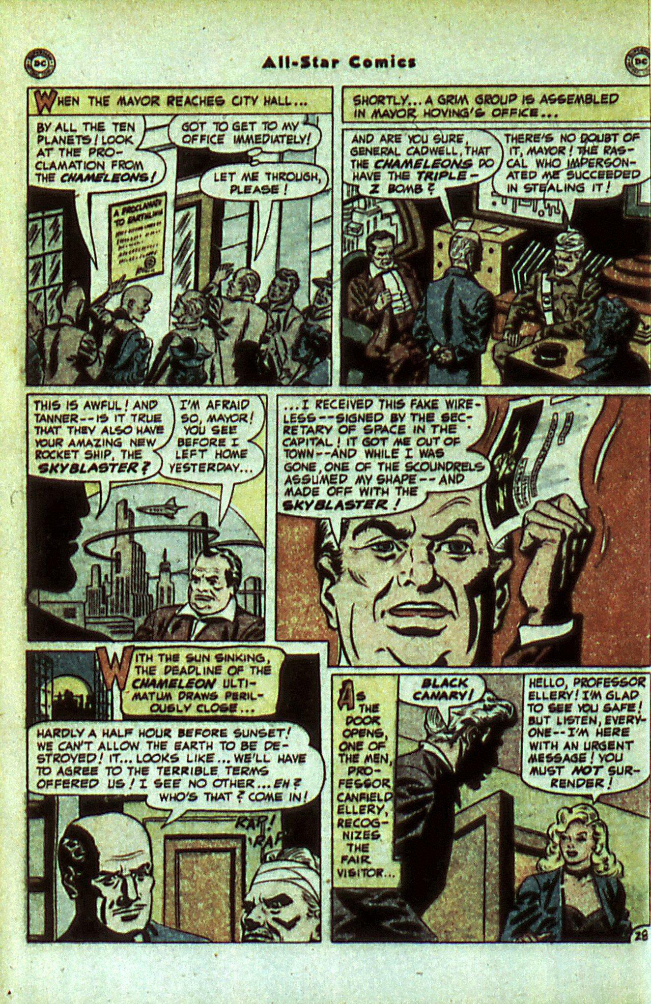 Read online All-Star Comics comic -  Issue #56 - 36