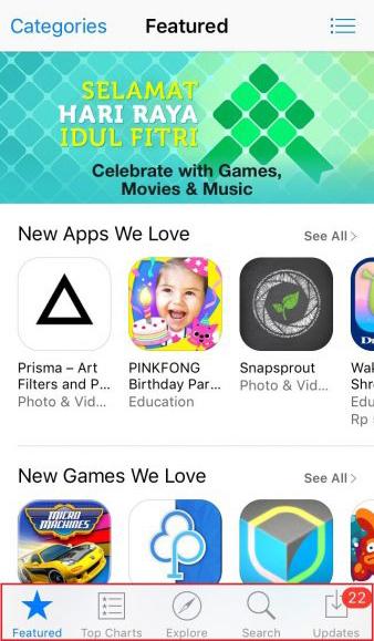 Cara Memperbaiki iPhone Yang Tidak Mau Mengunduh Aplikasi 16