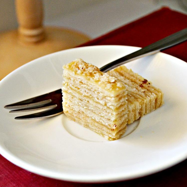 Keeping Things Simple Napoleon Cake