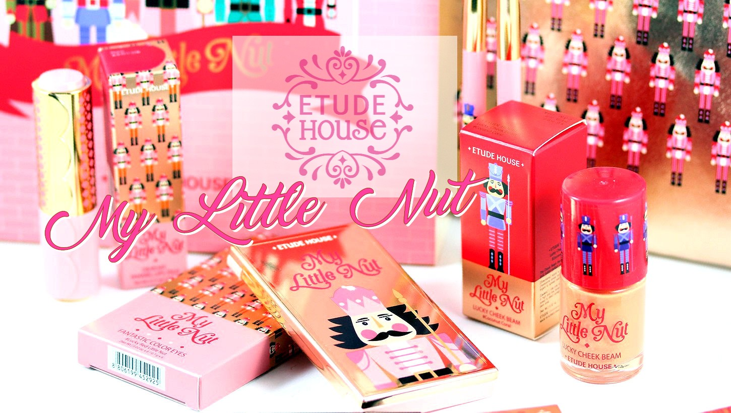 Etude House My Little Nut Holiday Collection Pink Box Colorful Scent Eau De Perfume Roll On