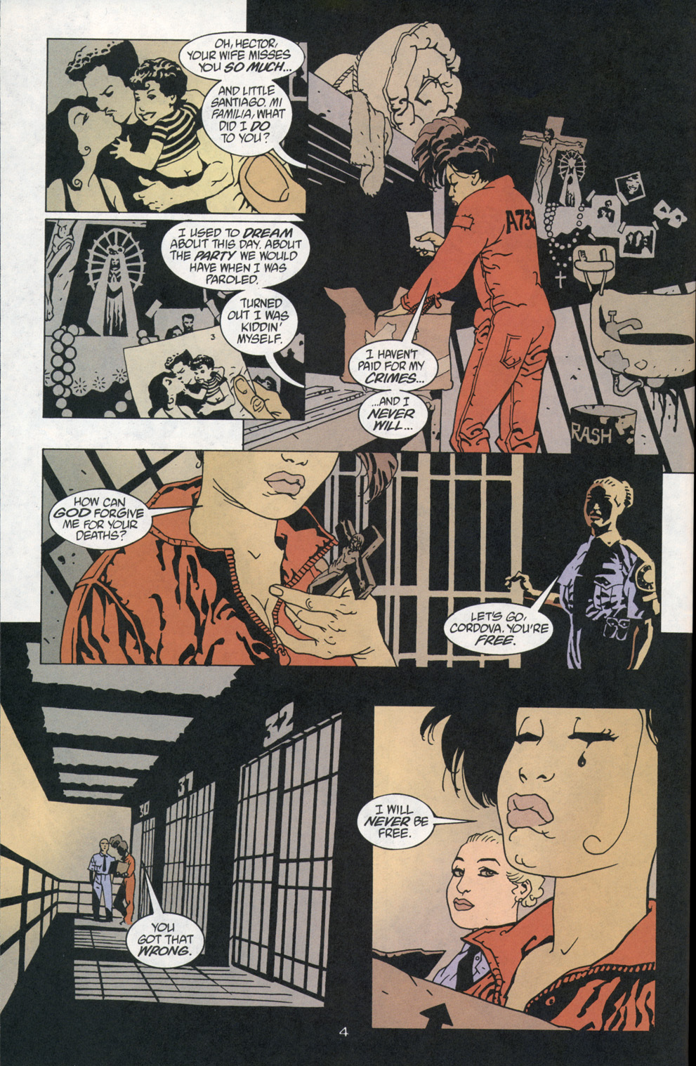 Read online 100 Bullets comic -  Issue #1 - 5