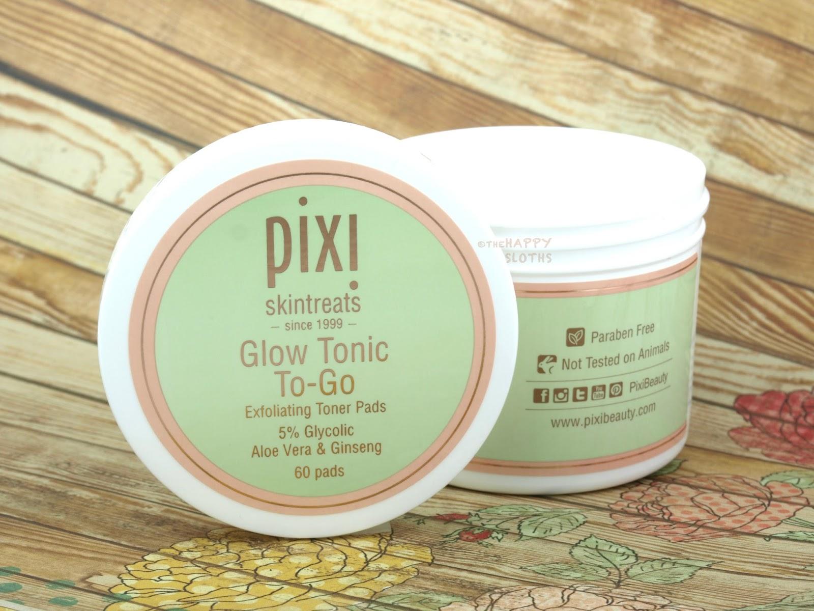 Pixi Glow Tonic To-Go Exfoliating Toner Pads: Review | The