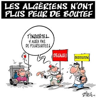 Les Algériens n'ont plus peur de Bouteflika