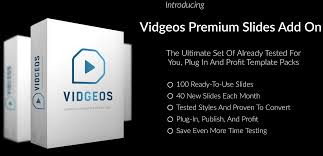 Vidgeos Premium Slides Add On - VIDGEOS OTO1
