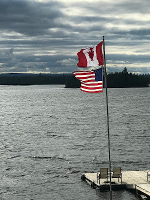 Lady Evelyn Lake, Ellen Island Camp, remote fishing trip