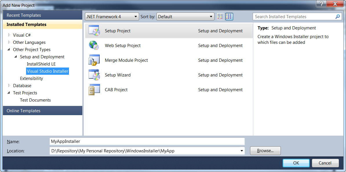 Exploring the Windows Installer - Productive C# | Learn C#