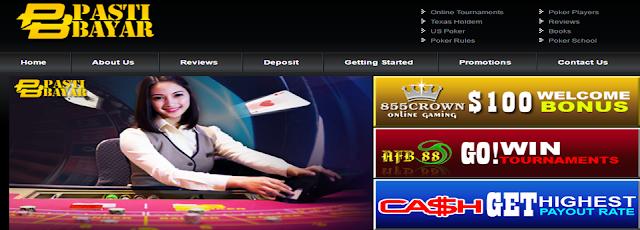 PastiBayar Agen Judi Bola Dan Casino Online Uang Asli Indonesia Terpercaya