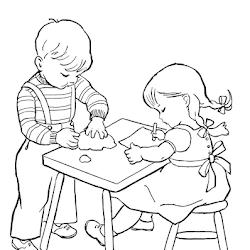 Ayo Mewarnai Gambar Mewarnai Makan Bersama Keluarga Tercinta Mudah Dan Gampang Mewarnai Gambar Pensil