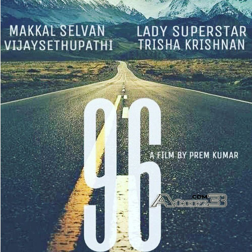 96 tamil Movie Audio CD Front Covers, Posters, Pictures, Pics, Images, Photos, Wallpapers