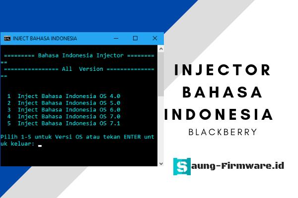 Injector Bahasa Indonesia Blackberry