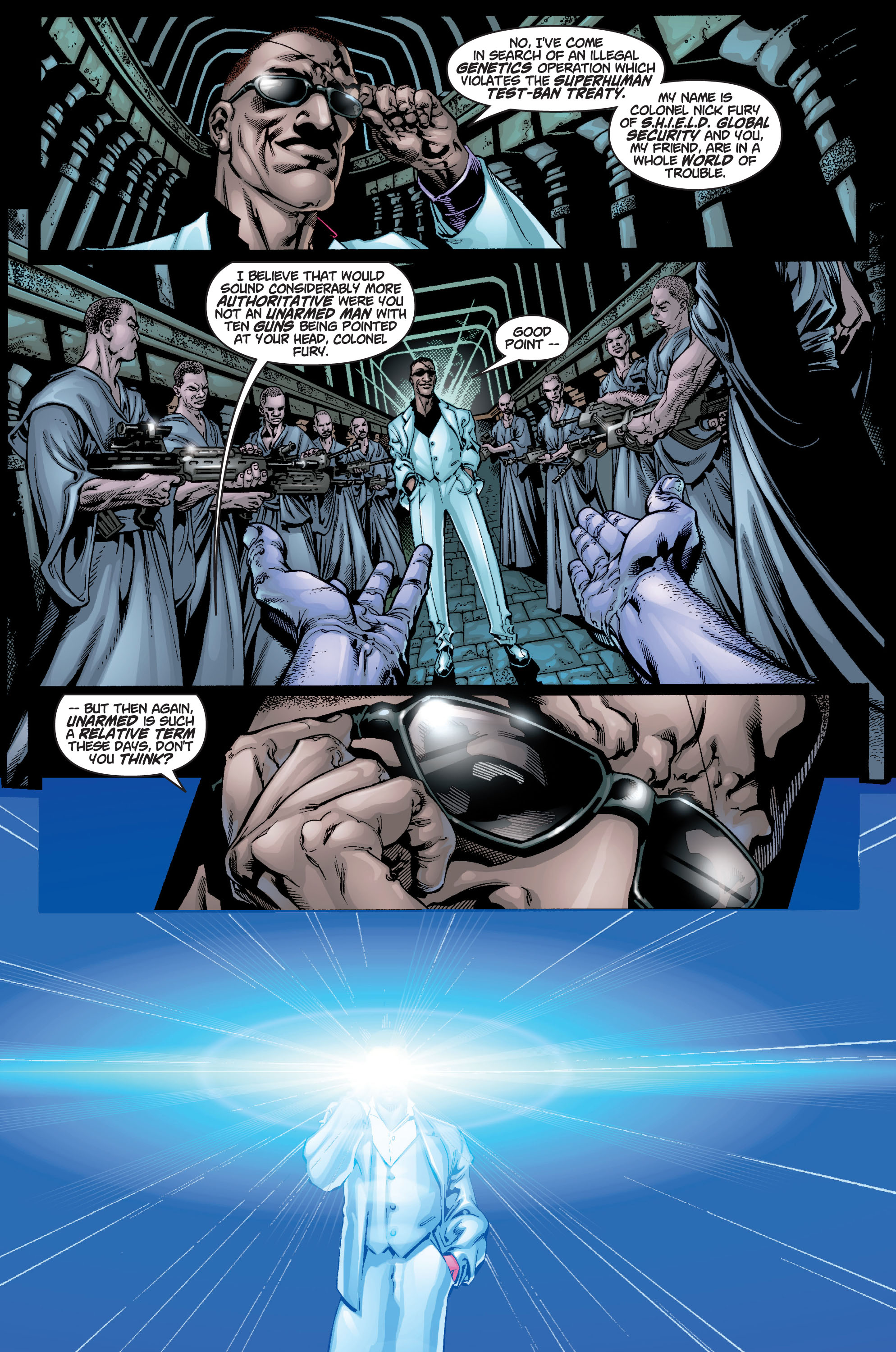 Read online Ultimate X-Men comic -  Issue #9 - 6