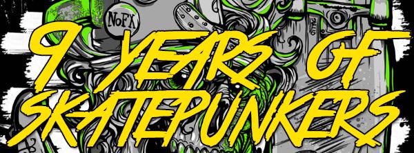 9 years of Skatepunkers