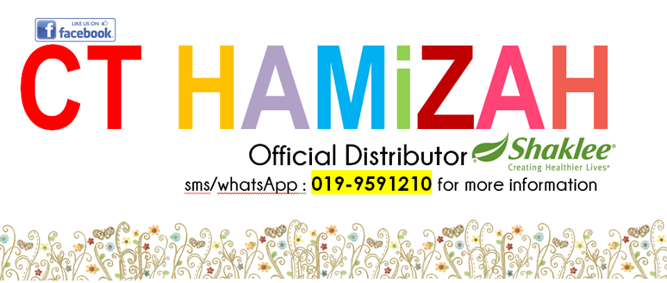 ♥ Ct Hamizah TRUSTED Shaklee Distributor ♥