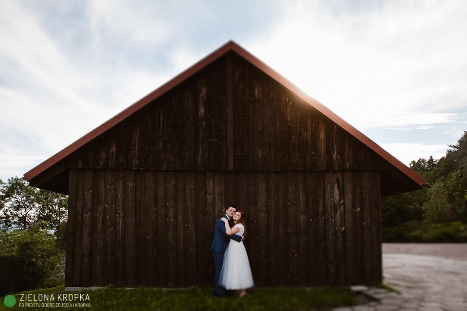 Fotografia ślubna Lanckorona Willa Tadeusz