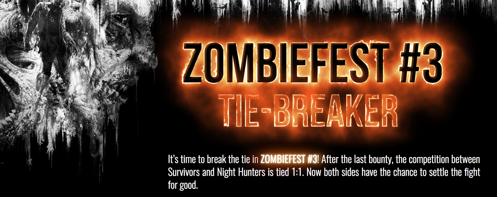 ¡Se anuncia el tercer Zombifest para Dying Light!, hay que desempatar