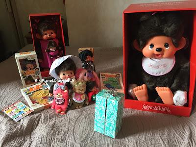 kiki monchhichi bebichhichi toys vintage