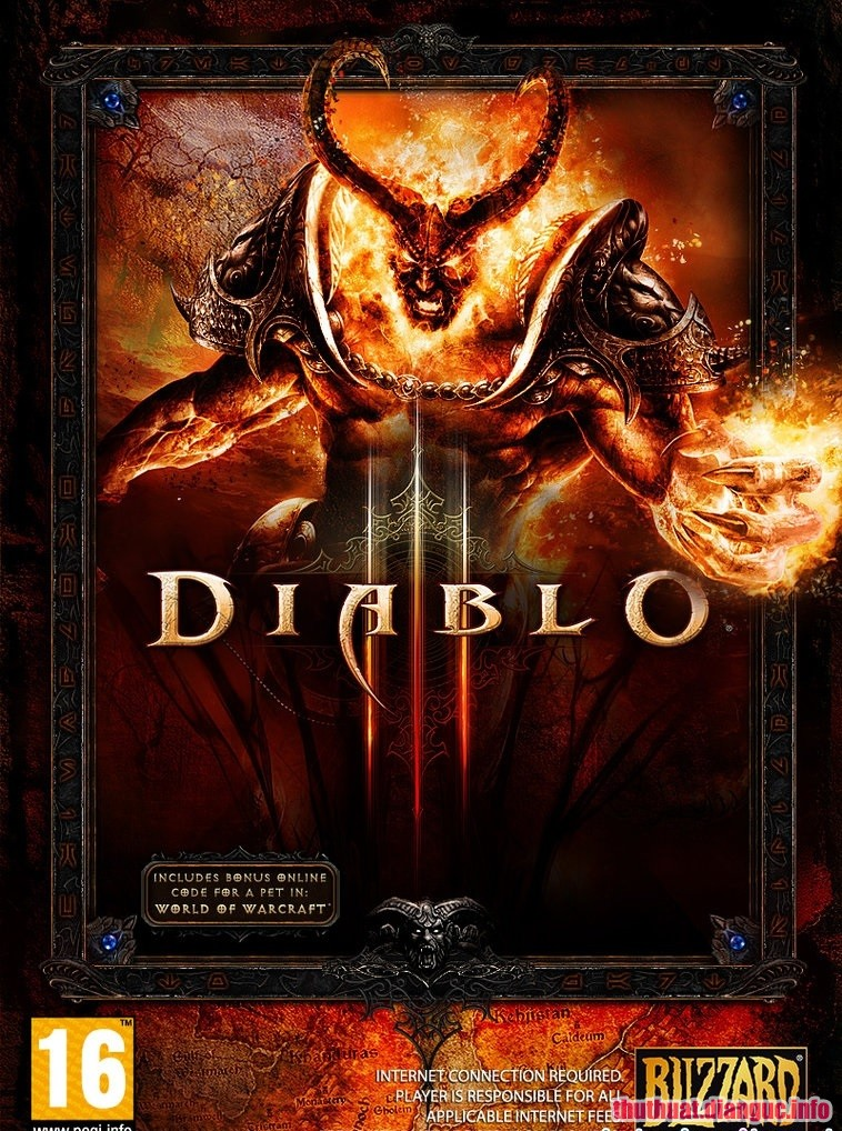 Download Game Diablo III Full crack Fshare