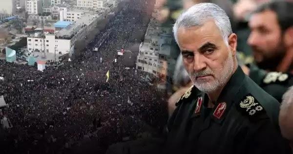 Σουλεϊμανί: Aναβλήθηκε η κηδεία του στρατηγού μετά τους 40 νεκρούς (βίντεο)
