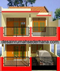 gambar desain rumah untuk renovasi kpr btn luas tanah min