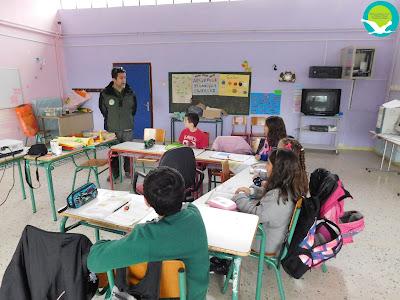 Επίσκεψη του Φορέα Διαχείρισης στο δημοτικό σχολείο Μαζαρακιάς