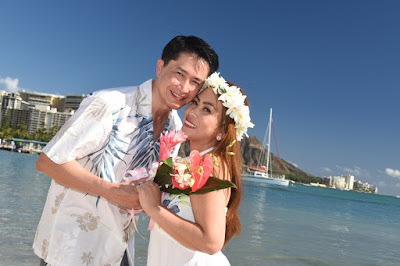 Blue Sky Wedding