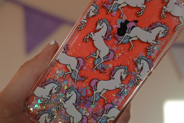 Skinnydip Glitter Unicorn iPhone 5C Case